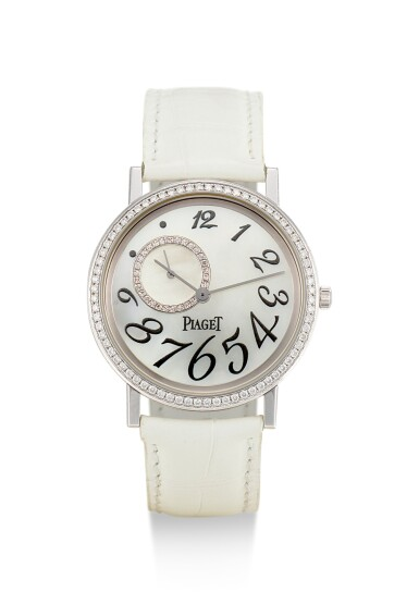 PIAGET | ALTIPLANO, REFERENCE P10346, A WHITE GOLD AND DIAMOND-SET WRISTWATCH WITH MOTHER-OF-PEARL DIAL, CIRCA 2016