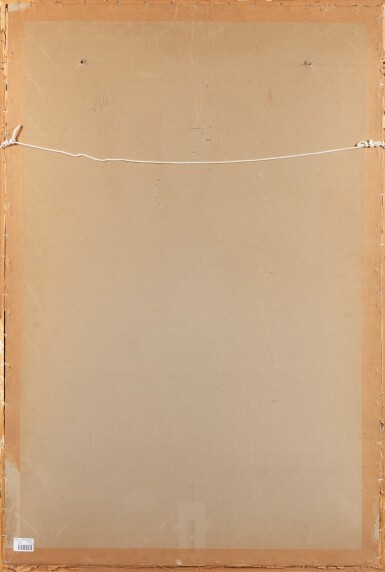 TANGKA REPRÉSENTANT UN MANDALA DE VAJRASANA TIBET, XVIIIE-XIXE SIÈCLE | 西藏 十八至十九世紀 曼荼羅唐卡 設色布本 鏡框 | A thangka depicting a Vajrasana mandala, distemper on cloth, Tibet, 18th-19th century