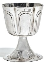 A COMMONWEALTH SILVER WINE CUP, ATTRIBUTED TO EDWARD TREENE, LONDON, 1652