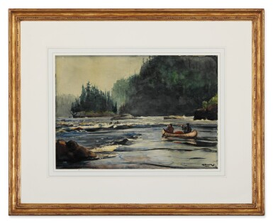 View 2. Thumbnail of Lot 50. In the Rapids.