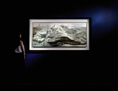 View 8. Thumbnail of Lot 1013.  WU GUANZHONG 吳冠中 | SCENERY OF NORTHERN CHINA 北國風光.