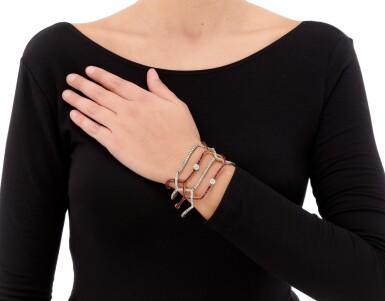 RUBY AND DIAMOND BRACELET   (BRACCIALE IN RUBINI E DIAMANTI)