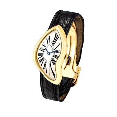 View 2. Thumbnail of Lot 2037. Cartier | Crash, A limited edition yellow gold wristwatch, Circa 1991 | 卡地亞 | Crash 限量版黃金腕錶,約1991年製.