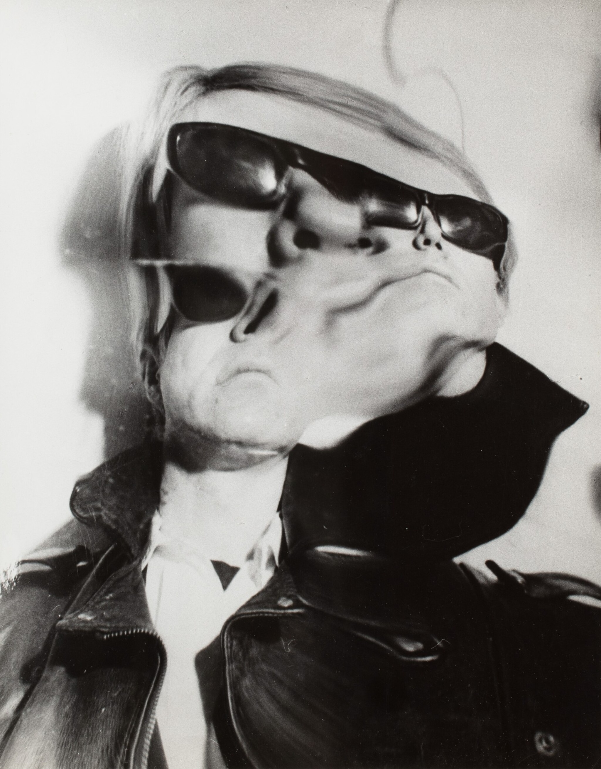 View full screen - View 1 of Lot 8. Weegee   Andy Warhol Distortion, c. 1965.