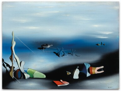YVES TANGUY | FEU COULEUR NO. 2