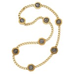 Gold and Antique Coin 'Monete' Necklace