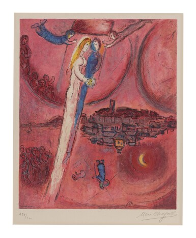 CHARLES SORLIER AFTER MARC CHAGALL | THE SONG OF SONGS (MOURLOT CS 47)