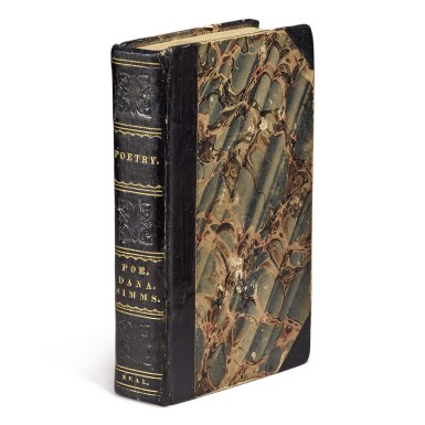 View 2. Thumbnail of Lot 175. POE, EDGAR ALLAN | Poems. New York: Elam Bliss, 1831.