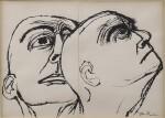 Head Study: A Diptych