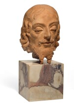 CIRCLE OF ANDREA DEL VERROCCHIO (1435-1488), ITALIAN, FLORENCE, 15TH CENTURY | HEAD OF SAINT JOHN THE BAPTIST