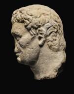 A ROMAN MONUMENTAL MARBLE PORTRAIT HEAD OF NERVA, LATE 1ST CENTURY A.D.