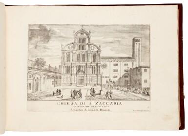 View 1. Thumbnail of Lot 19. CARLEVARIS   Le fabriche e vedute di Venetia, Venice, [1705].
