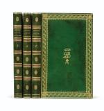Lettres à Émilie... Paris, 1800. 3 tomes in-8. Bel exemplaire de Joséphine Bonaparte relié par Bradel.