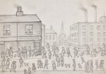 LAURENCE STEPHEN LOWRY, R.A. | THE CORNER SHOP