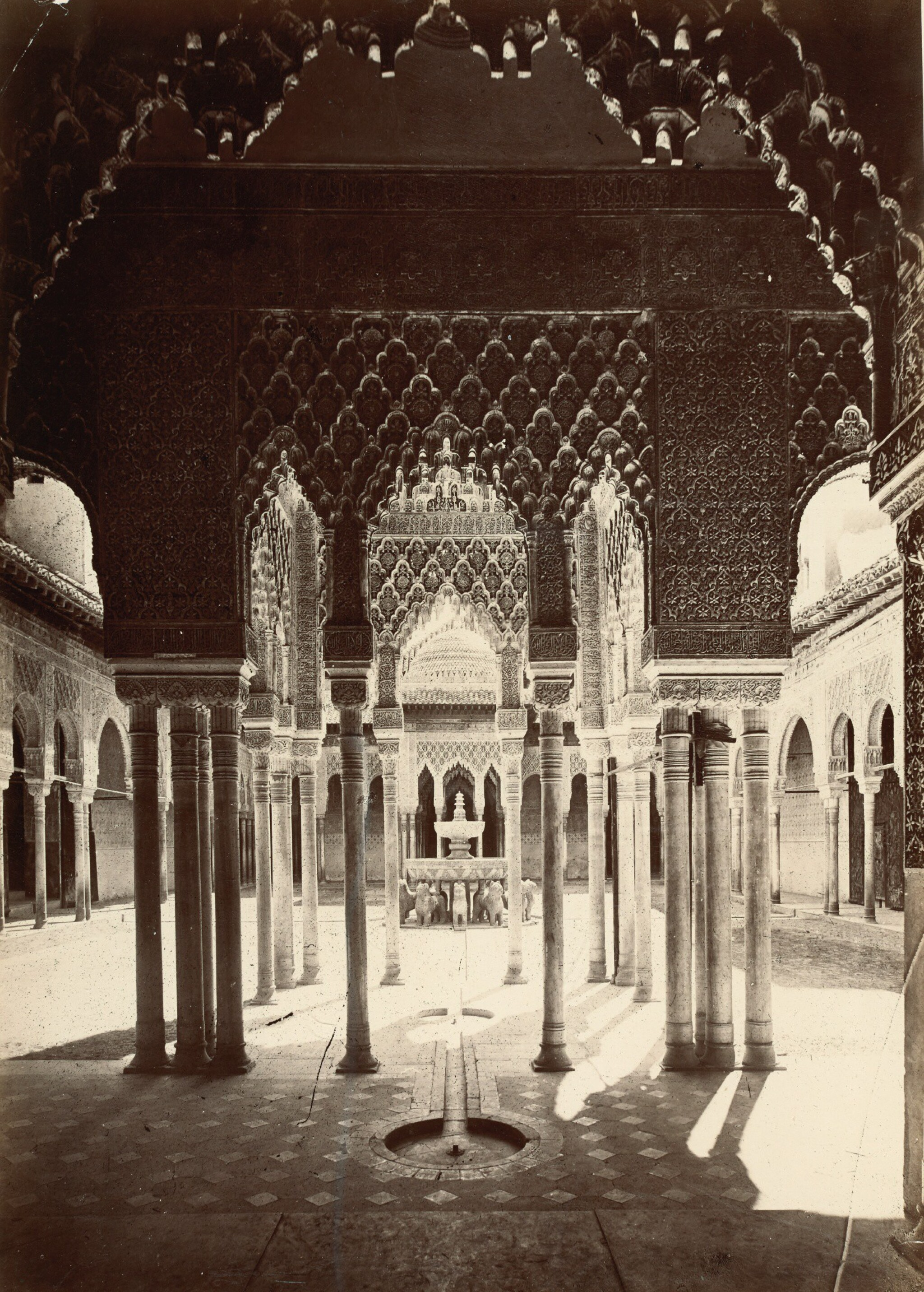 View full screen - View 1 of Lot 155. Laurent. Twenty five photographs of the Alhambra, Seville and Cordoba. [c.1880s].