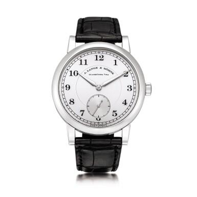 View 1. Thumbnail of Lot 2022. A. Lange & Söhne | 1815, Reference 233.025, A brand new limited edition platinum wristwatch, Circa 2009 | 朗格 | 1815 型號233.025 全新限量版鉑金腕錶,約2009年製.