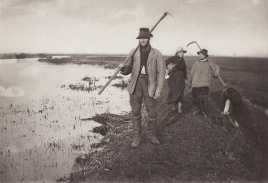 View 2. Thumbnail of Lot 33. England—Peter Henry Emerson and T.F. Goodall | Life and Landscape on the Norfolk Broads. London, 1886.