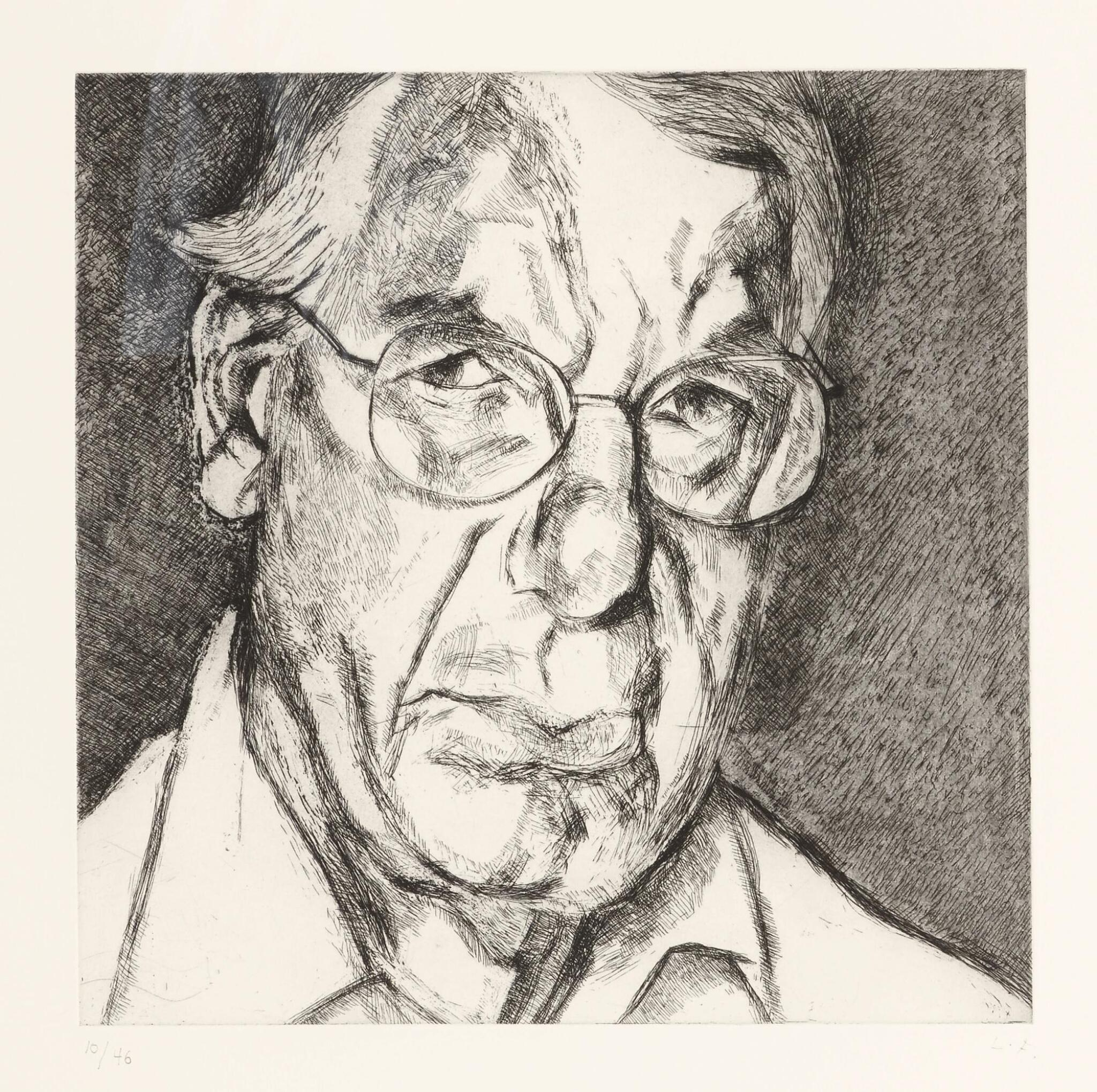 View full screen - View 1 of Lot 103. LUCIAN FREUD | THE NEW YORKER (F. 84).
