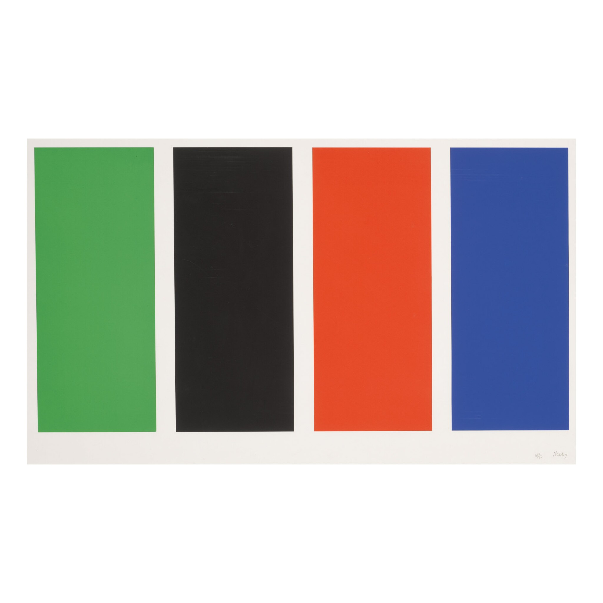 View full screen - View 1 of Lot 5. ELLSWORTH KELLY | FOUR PANELS (AXSOM 72).