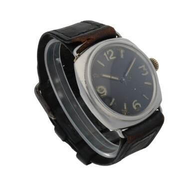 View 3. Thumbnail of Lot 189. RADIOMIR, REF 3646 STAINLESS STEEL MILITARY DIVERS' WATCH CIRCA 1940.