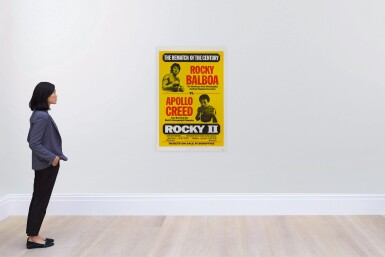 ROCKY II (1979) POSTER, US