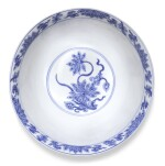 A BLUE AND WHITE 'LOTUS' BOWL | QING DYNASTY, KANGXI PERIOD