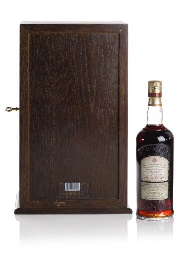 View 5. Thumbnail of Lot 315. BOWMORE 38 YEAR OLD OLOROSO CASK 42.9 ABV 1964   .