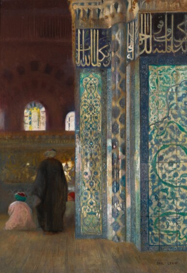 View 3. Thumbnail of Lot 11. PAUL LEROY | THE RÜSTEM PASHA MOSQUE IN CONSTANTINOPLE: A PAIR.