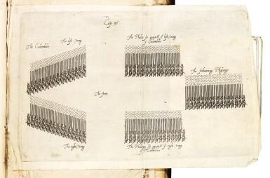Aelianus Tacticus, translated by Bingham, London, 1616-1631, 2 volumes, calf