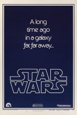STAR WARS, STYLE B POSTER, ADVANCE, 1977
