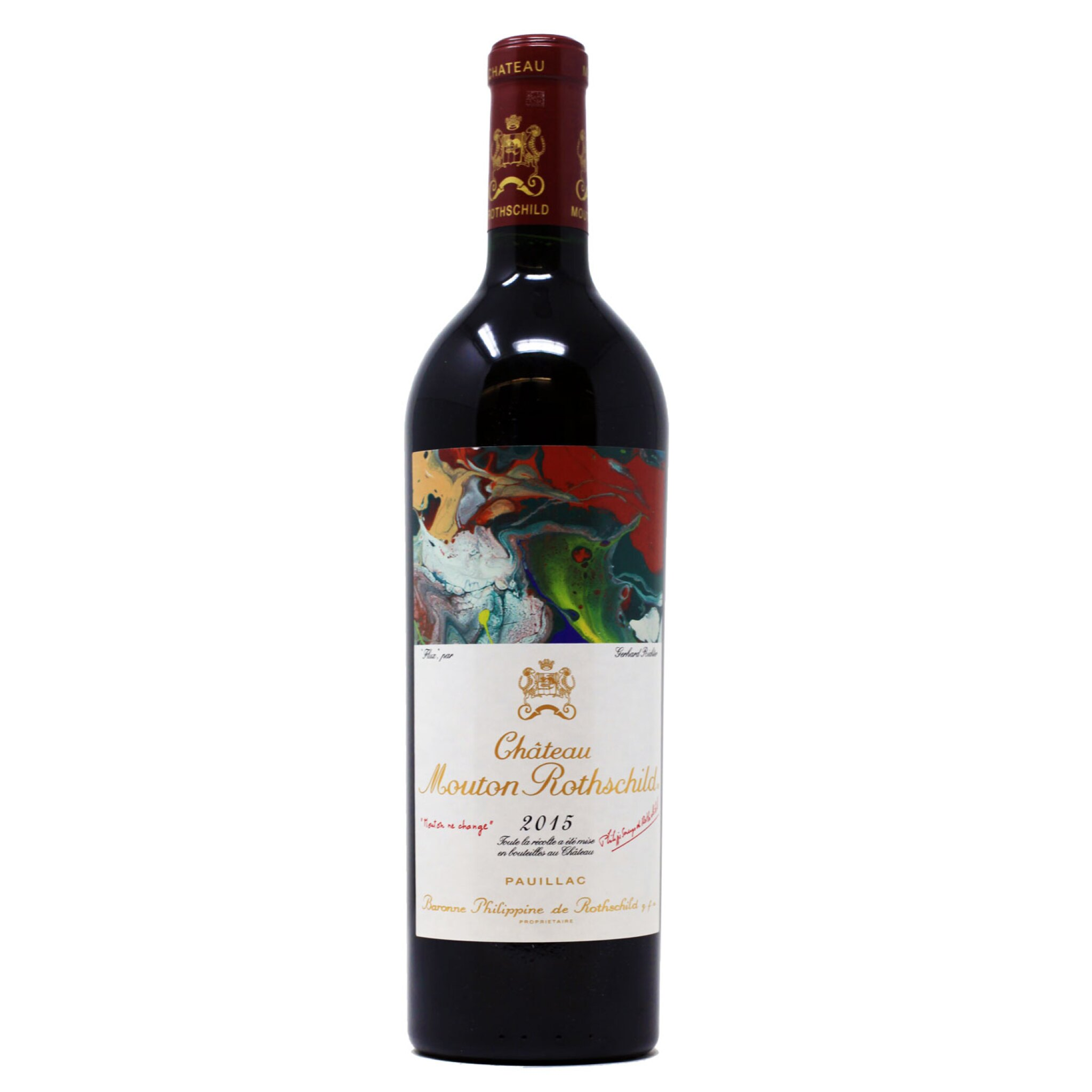 View full screen - View 1 of Lot 1. Chateau Mouton Rothschild 2015, Pauillac - 1 Magnum (1.5L).
