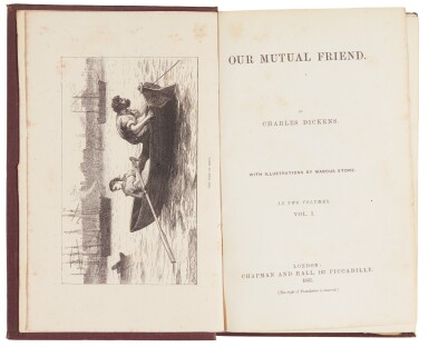 Dickens, Our Mutual Friend, 1865, first book edition