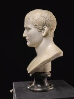 AFTER ANTOINE-DENIS CHAUDET (1763-1810), FRENCH, 19TH CENTURY   BUST OF NAPOLEON