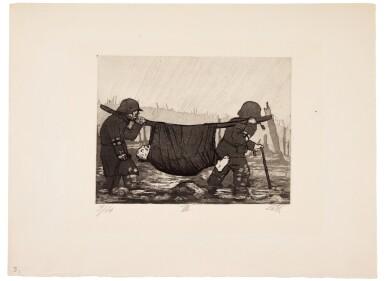 View 46. Thumbnail of Lot 19. Der Krieg (K. 70 - 119).