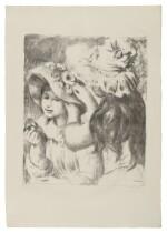 Le Chapeau Epinglé (2eme planche) (Delteil, Stella 30; Roger-Marx 5)