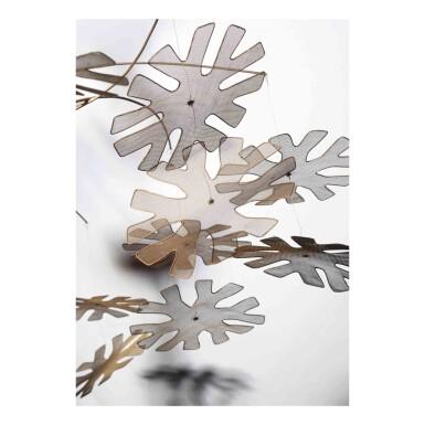 "View 2. Thumbnail of Lot 413. A Rare ""Snowflake"" Ceiling Light, Model No. 10109."