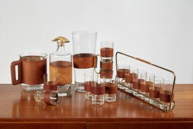 View 1. Thumbnail of Lot 3. Glassware Set.