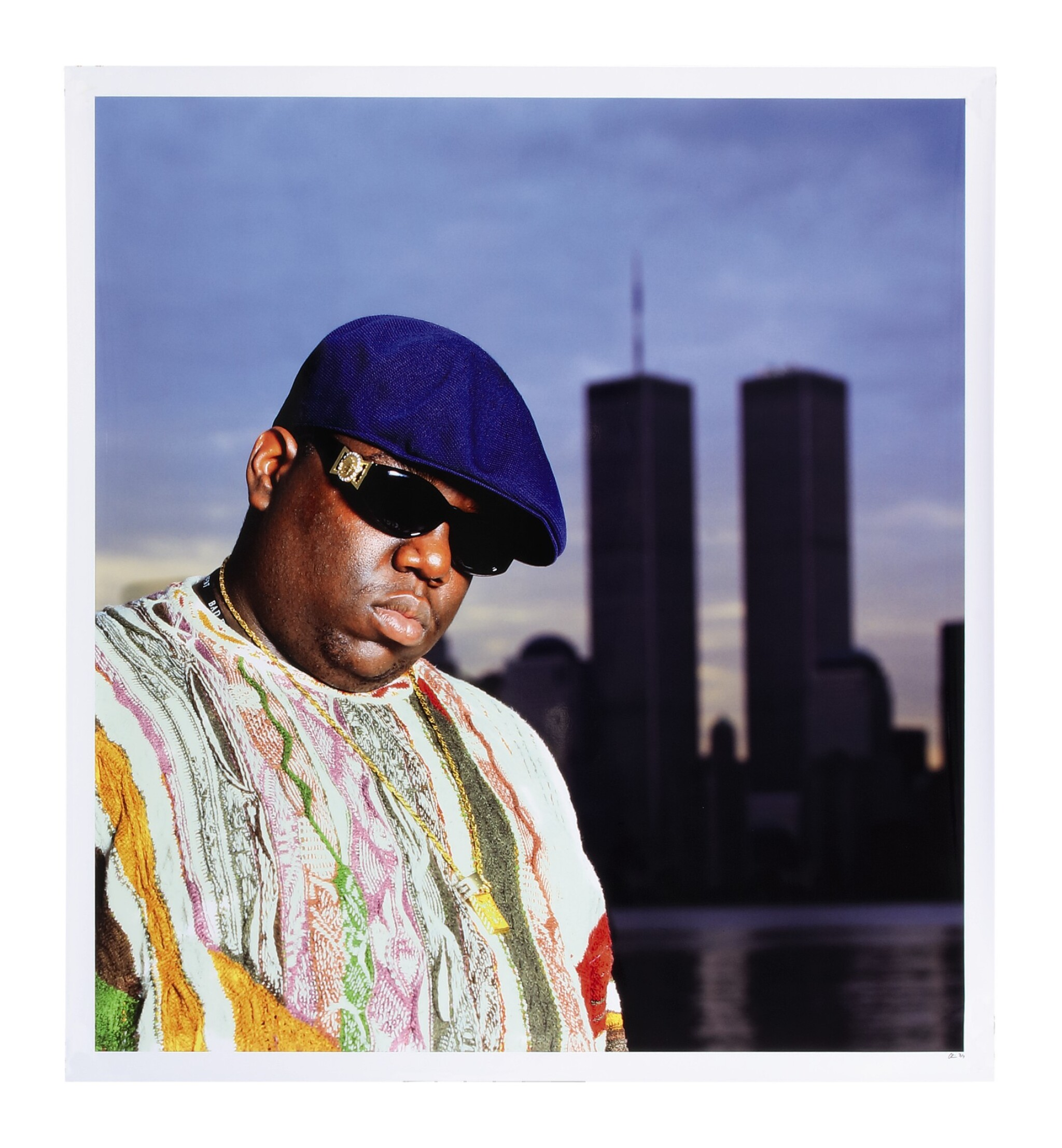 View full screen - View 1 of Lot 88. CHI MODU | Notorious B.I.G. & World Trade Center, 1996.
