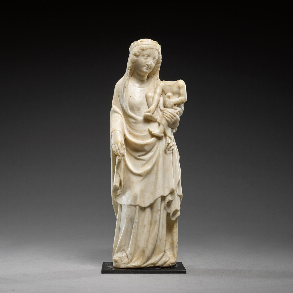 GERMAN, COLOGNE, SECOND QUARTER 14TH CENTURY | VIRGIN AND CHILD