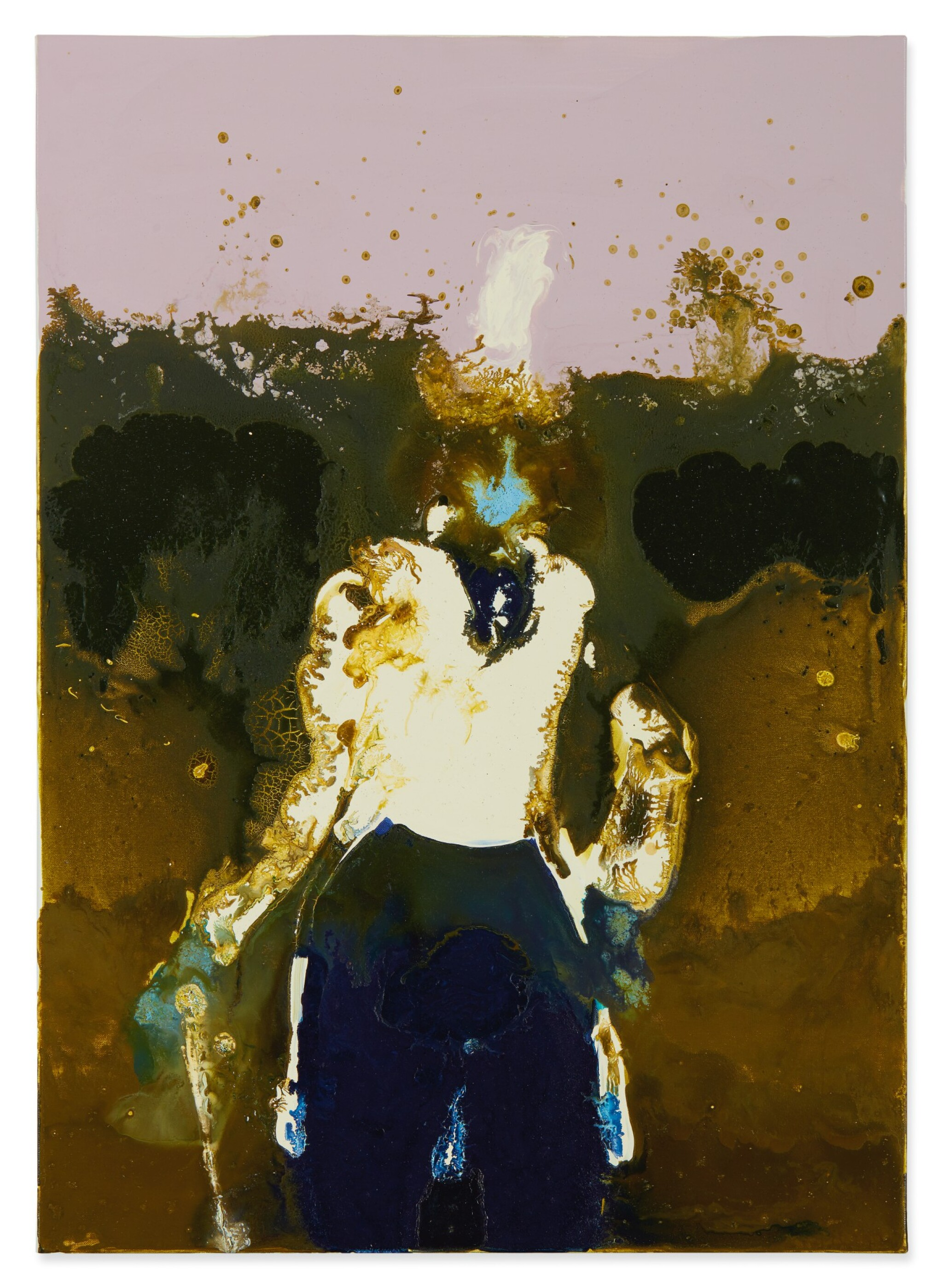 View full screen - View 1 of Lot 3. GENIEVE FIGGIS | GENTLEMAN WITH A STICK.