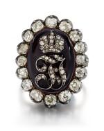Diamond and Enamel Ring, Late 19th Century | 鑽石 配 琺瑯彩 戒指,19世紀末
