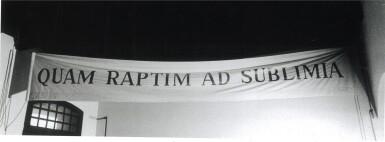View 3. Thumbnail of Lot 36. GIULIO PAOLINI  |  QUAM RAPTIM AD SUBLIMIA.