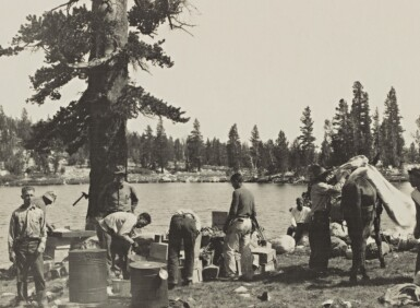 View 7. Thumbnail of Lot 78. The Sierra Club Outing, 1929.