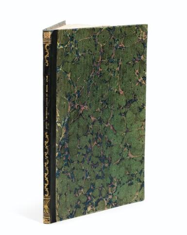 """View 4. Thumbnail of Lot 37. ARAGO (Jacques). Atlas pour """"Promenade autour du monde"""" [1822]. Petit in-folio 1/2 basane verte."""