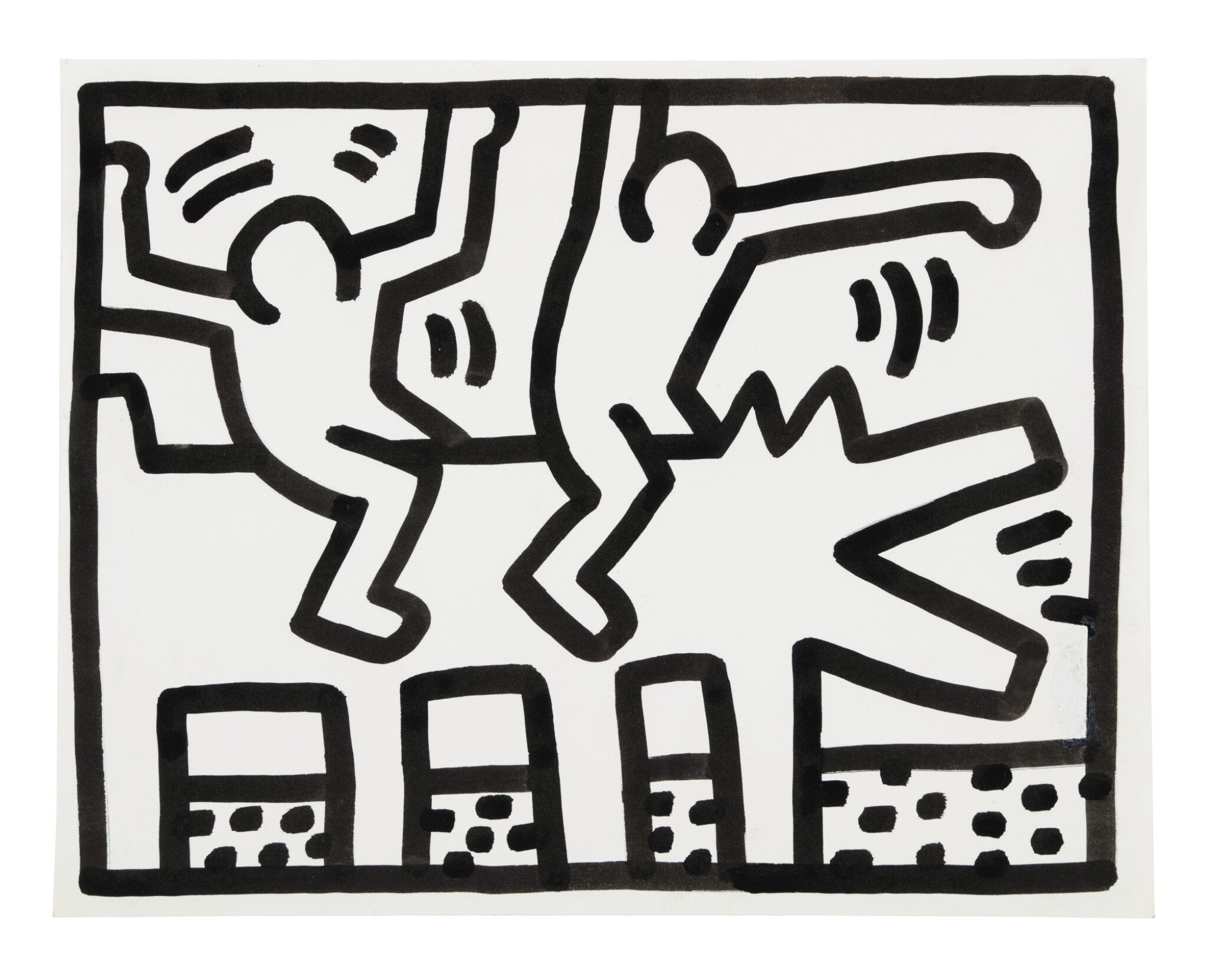 View full screen - View 1 of Lot 210. Untitled (Pop Shop Drawing).