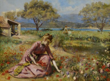 View full screen - View 1 of Lot 34. JULIUS LEBLANC STEWART | THE FIRST SPRING.