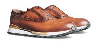 View 6. Thumbnail of Lot 10. Berluti | BMX and Fast Track Shoes (BMX et Fast Track Chaussure) [2 Items / Articles].