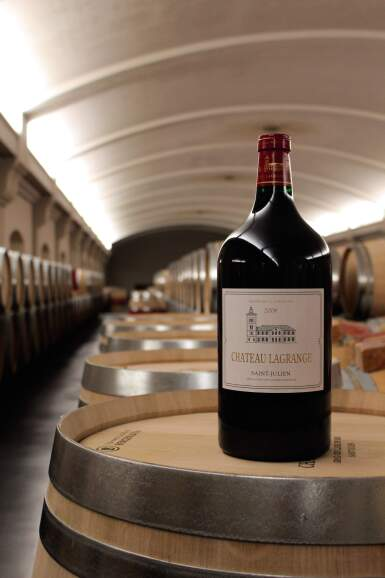 View 2. Thumbnail of Lot 24. LAGRANGE, AN EPICUREAN DELIGHT: 1 X 3 LITRE LAGRANGE 2008 WITH LUNCH AT THE CHÂTEAU .