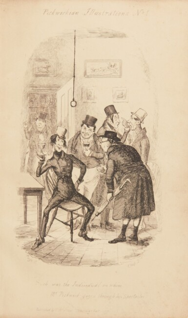 Heath, Pickwickian Illustrations, 1837, first edition