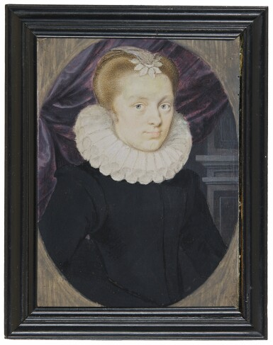 PETER OLIVER | PORTRAIT OF A LADY, CIRCA 1620